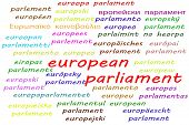 Ways To Say European Parliament In All 24 Official Languages Of The European Union poster
