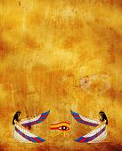 picture of isis  - Background with Egyptian goddess image  - JPG