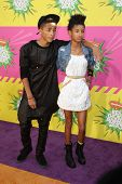 LOS ANGELES - MAR 23:  Jaden Smith, Willow Smith arrive at Nickelodeon's 26th Annual Kids' Choice Aw