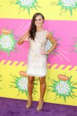LOS ANGELES - MAR 23:  Karina Smirnoff arrives at Nickelodeon's 26th Annual Kids' Choice Awards at t