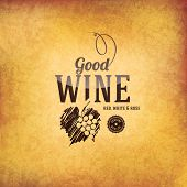 picture of card-making  - Wine list design - JPG