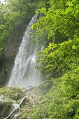pic of swabian  - The waterfall of Bad Urach - JPG