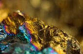 picture of iron pyrite  - Abstract background gold bronze copper iron - JPG
