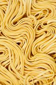 picture of noodles  - Raw ramen noodle close - JPG