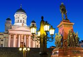 foto of senators  - Famous landmark in Finnish capital - JPG