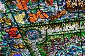 foto of stained glass  - Stained - JPG