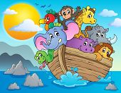 picture of noah  - Noahs ark theme image 2  - JPG