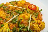 picture of paneer  - Mix vegetable masala  - JPG