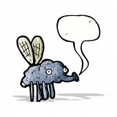 foto of gross  - gross fly cartoon - JPG