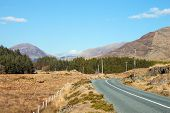 pic of galway  - The road through the Inagh Valley - JPG
