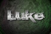stock photo of biblical  - Luke Concept text on background biblical idea - JPG
