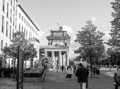 Постер, плакат: Brandenburger Tor Berlin