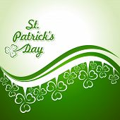picture of saint patrick  - Vector Illustration of Saint Patricks Day Design - JPG