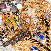 picture of jewelry  - Jewelry background - JPG