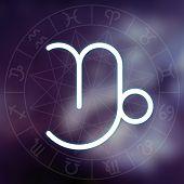 foto of capricorn  - Zodiac sign  - JPG