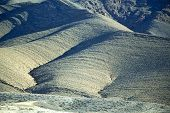 image of atlas  - valley in africa morocco the atlas dry mountain ground isolated hill - JPG