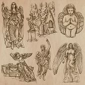 picture of zoroastrianism  - ANGELS - JPG