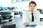 stock photo of rental agreement  - Young professional - JPG