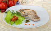 image of t-bone steak  - Grilled t - JPG