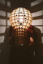 stock photo of lamp shade  - Hanging - JPG