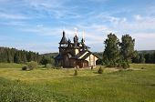 picture of backwoods  - Church of All Saints Resplendent in the Siberian Land was built in 2002 - JPG