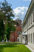 pic of nicholas  - The view along central alley from northern side towards St Nicholas Cathedrals of Intercession  - JPG