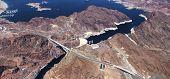 picture of dam  - Hoover dam colorado grand canyon arizona usa - JPG
