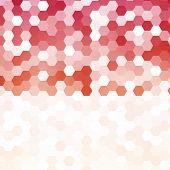picture of hexagon  - Vector abstract color 3d hexagonal - JPG