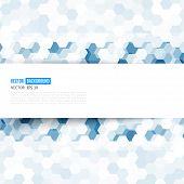 pic of hexagon  - Vector abstract color 3d hexagonal - JPG