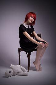 stock photo of rag-doll  - Red - JPG