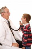 Doctor With Patient 5 poster