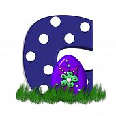 image of g-spot  - G in the alphabet set  - JPG