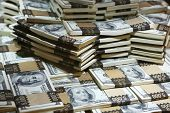 stock photo of million-dollar  - a lot of money  - JPG