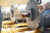 New High-power Electric Motors Are In Stock And Ready For Use. poster