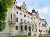 Castle Boitzenburg, landmark of Uckermark, Germany, Europe. poster