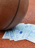 Basketball And Euro Money