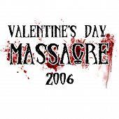 Valentine's Day Massacre poster
