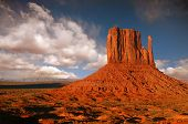 Butte In Monument Valley, Navajo Nation, Arizona poster
