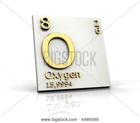 Oxygen Form Periodic Table Of