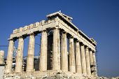 foto of akropolis  - The Parthenon in the Akropolis - JPG