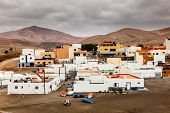 Fishing village on the island of Fuerteventura