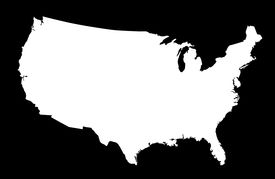image of united states map  - Illustration of United States created with a high attention to detail - JPG