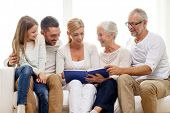 stock photo of couch  - family - JPG