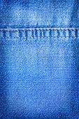 pic of denim wear  - denim blue fabric - JPG