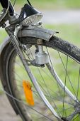 stock photo of dynamo  - old bike - JPG