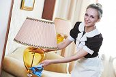 picture of housekeeper  - Hotel service - JPG