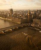 pic of westminster bridge  - Houses of Parliament and Westminster bridge in London - JPG