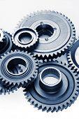 pic of bonding  - Metal cog wheels bonding together - JPG