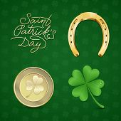 picture of horseshoe  - Saint Patrick - JPG