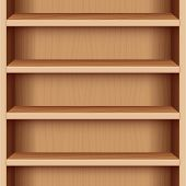 picture of extend  - Book case with wood grain  - JPG